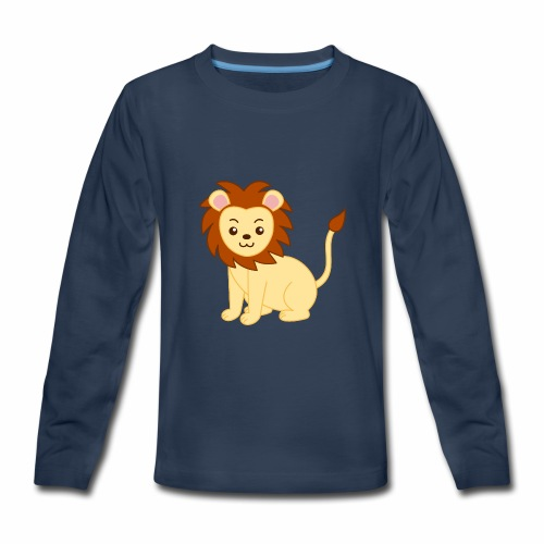 lionpouncing gaming merch - Kids' Premium Long Sleeve T-Shirt