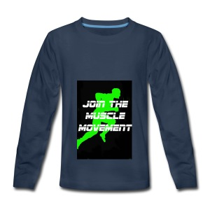 muscle movement - Kids' Premium Long Sleeve T-Shirt