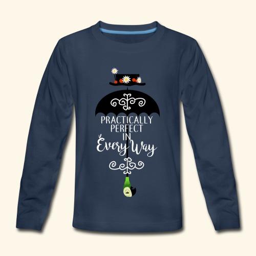 Practically Full-Colored - Kids' Premium Long Sleeve T-Shirt