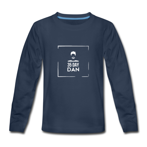 35DD Male White - Kids' Premium Long Sleeve T-Shirt