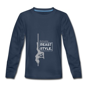 Activate: Beast Style - Kids' Premium Long Sleeve T-Shirt