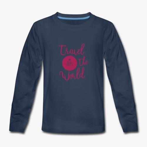 Trips Inc.™ 2017 apparel - Kids' Premium Long Sleeve T-Shirt