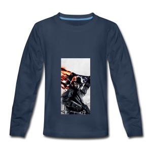 Tanker phone case - Kids' Premium Long Sleeve T-Shirt
