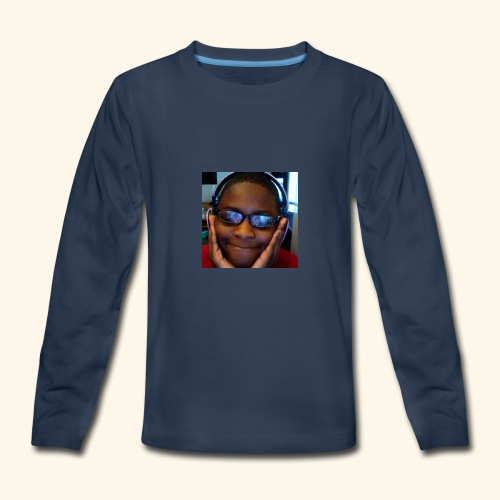 canva photo editor 2 - Kids' Premium Long Sleeve T-Shirt