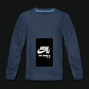 Screenshot_2017-01-07-20-09-58 - Kids' Premium Long Sleeve T-Shirt