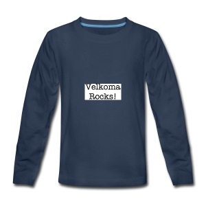 Velkoma Rocks! - Kids' Premium Long Sleeve T-Shirt