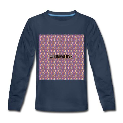 Jump4Love - Kids' Premium Long Sleeve T-Shirt