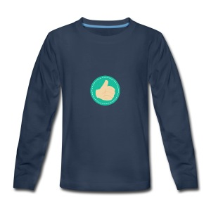 Thumb Up - Kids' Premium Long Sleeve T-Shirt