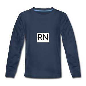 RN_Logo_small - Kids' Premium Long Sleeve T-Shirt