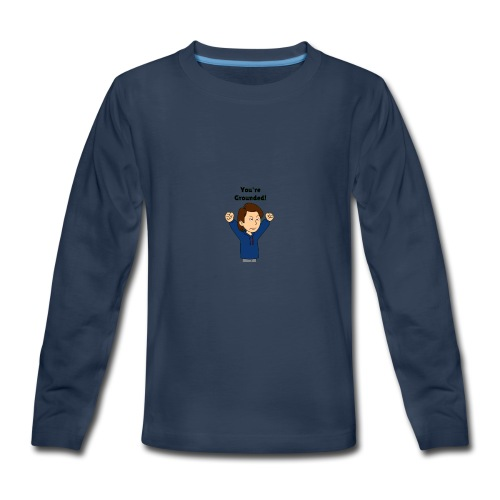 You're Grounded - Kids' Premium Long Sleeve T-Shirt