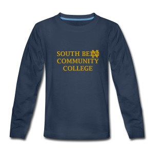 Notre Dame Community College - Kids' Premium Long Sleeve T-Shirt