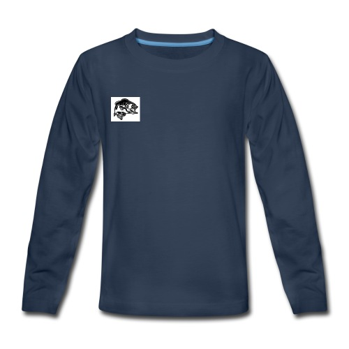 Cole Thompson Outdoors Logo - Kids' Premium Long Sleeve T-Shirt