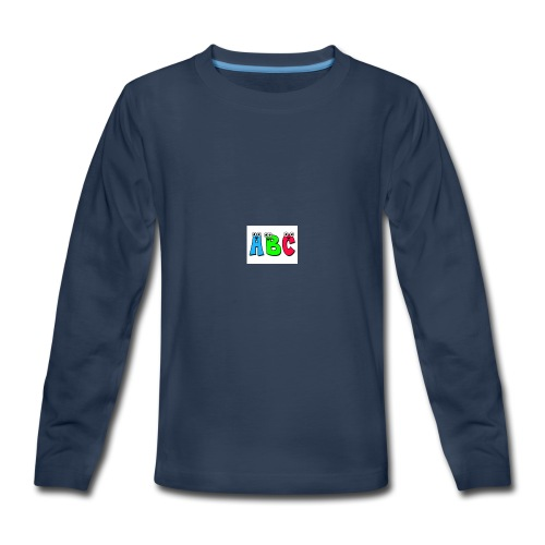 ABC - Kids' Premium Long Sleeve T-Shirt