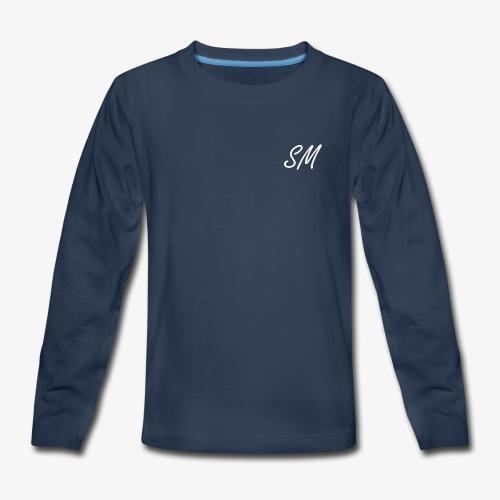 SM Logo - Kids' Premium Long Sleeve T-Shirt