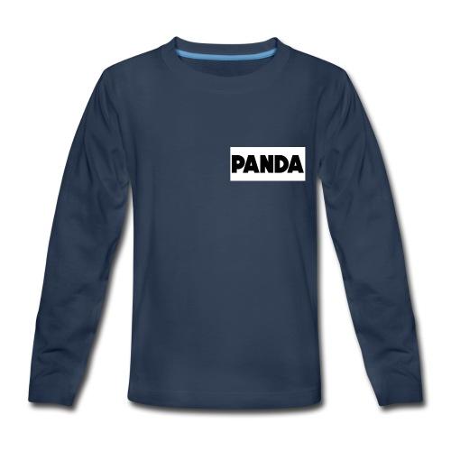 PandaSavageBro - Kids' Premium Long Sleeve T-Shirt