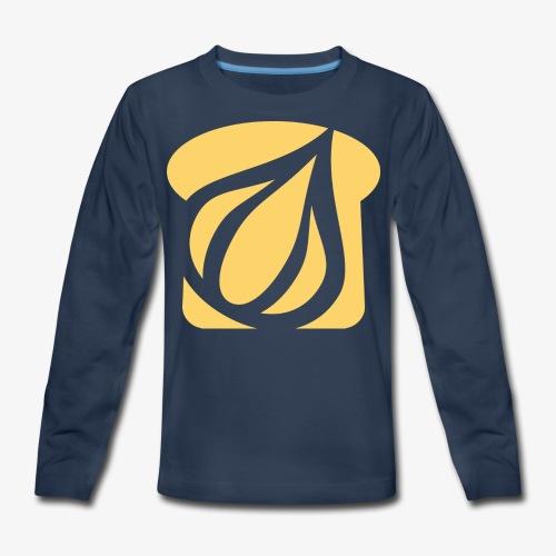 Garlic Toast - Kids' Premium Long Sleeve T-Shirt