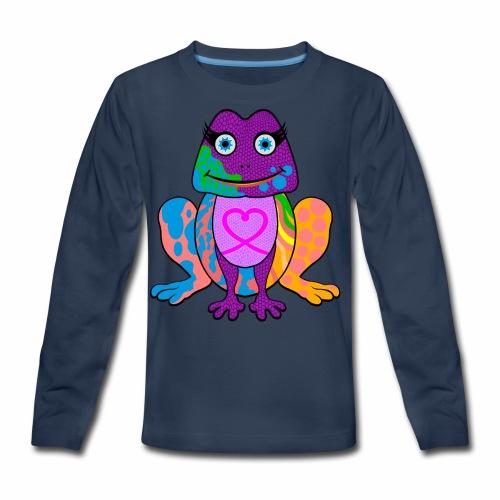 I heart froggy - Kids' Premium Long Sleeve T-Shirt