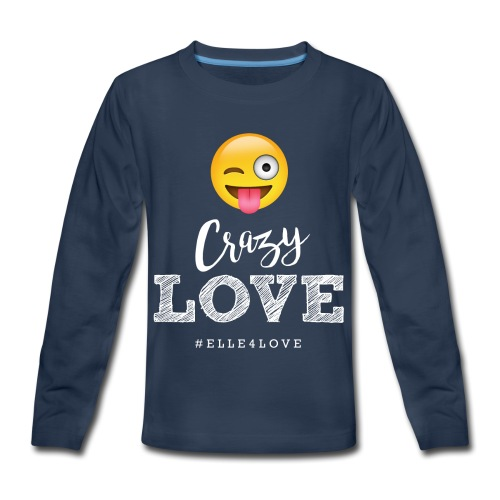 Crazy Love - Kids' Premium Long Sleeve T-Shirt