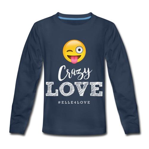 Crazy Love - Kids' Premium Long Sleeve T-Shirt