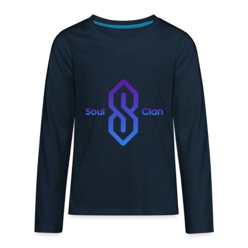 Soul Clan Logo - Kids' Premium Long Sleeve T-Shirt