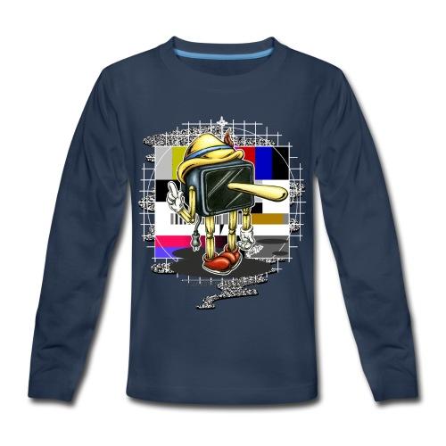 Piglotzio extended - Kids' Premium Long Sleeve T-Shirt