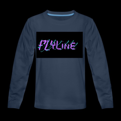 Flyline fun style - Kids' Premium Long Sleeve T-Shirt