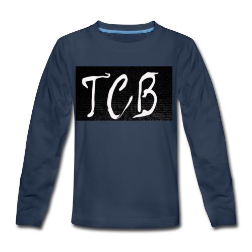 The Crazy Bros flag - Kids' Premium Long Sleeve T-Shirt