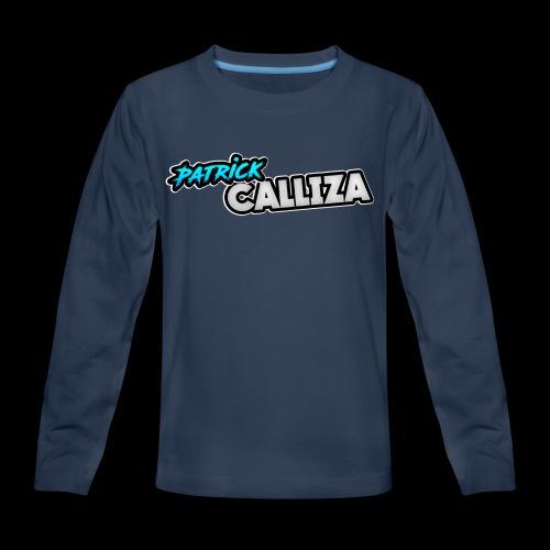 Patrick Calliza Official Logo - Kids' Premium Long Sleeve T-Shirt