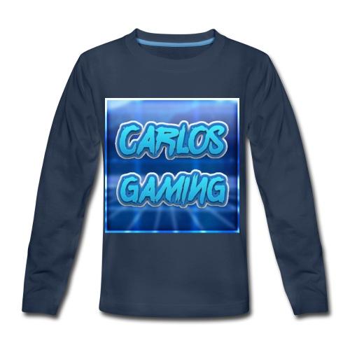 Carlos Gaming merchandise - Kids' Premium Long Sleeve T-Shirt