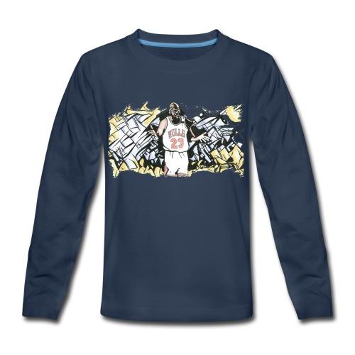 MJ - Kids' Premium Long Sleeve T-Shirt