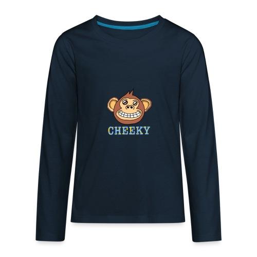 cheeky monkey - Kids' Premium Long Sleeve T-Shirt