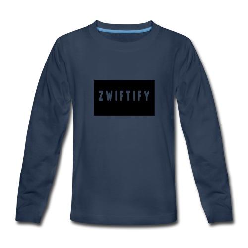 zwiftify - Kids' Premium Long Sleeve T-Shirt