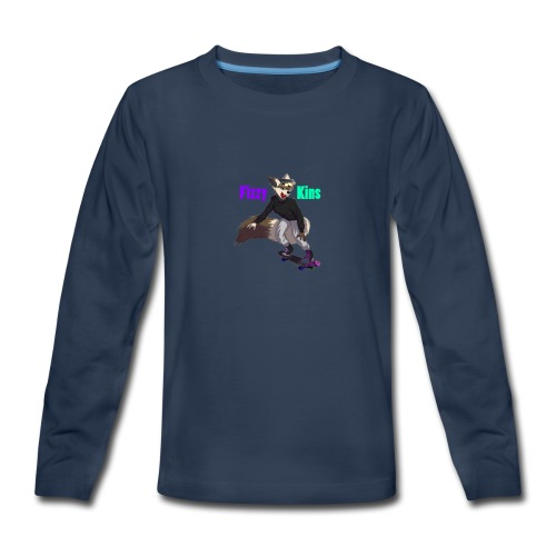 FizzyKins Design #1 - Kids' Premium Long Sleeve T-Shirt
