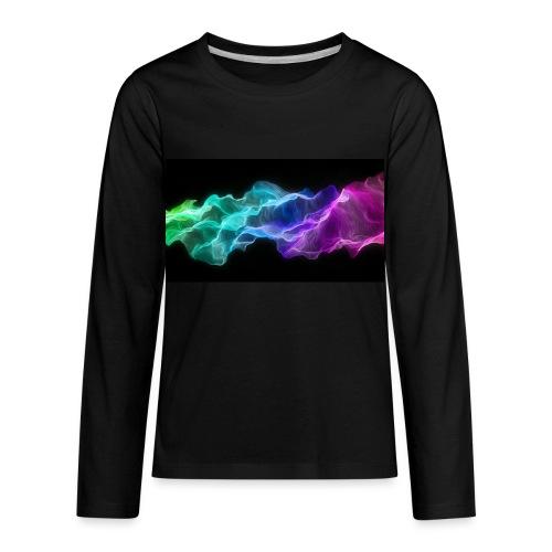 ws Curtain Colors 2560x1440 - Kids' Premium Long Sleeve T-Shirt