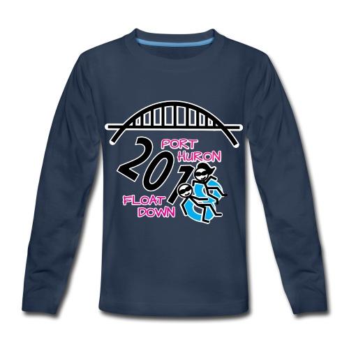Port Huron Float Down 2018 Shirt - Color - Kids' Premium Long Sleeve T-Shirt