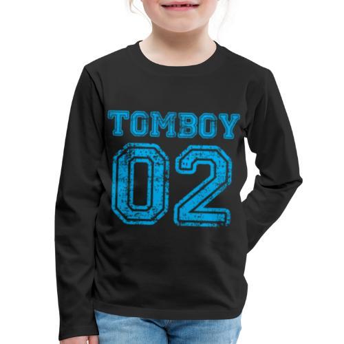 Tomboy02 png - Kids' Premium Long Sleeve T-Shirt