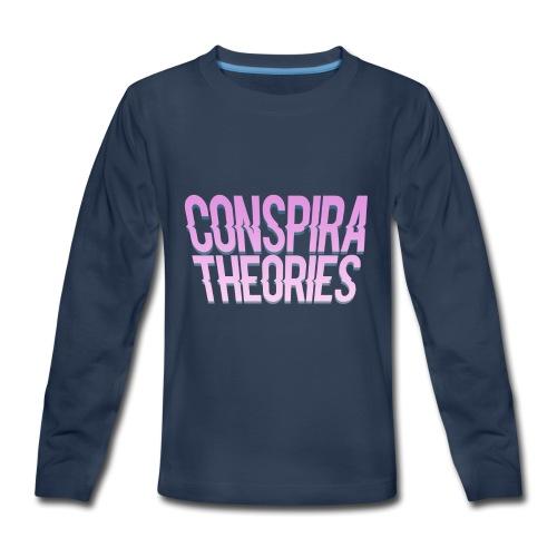 Women's - ConspiraTheories Official T-Shirt - Kids' Premium Long Sleeve T-Shirt