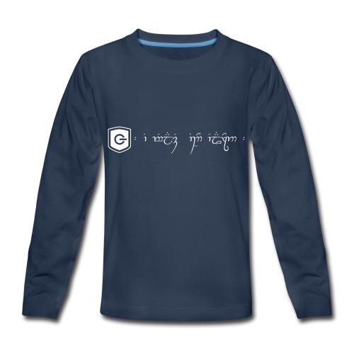 The Loving Heart of an Elf - Kids' Premium Long Sleeve T-Shirt