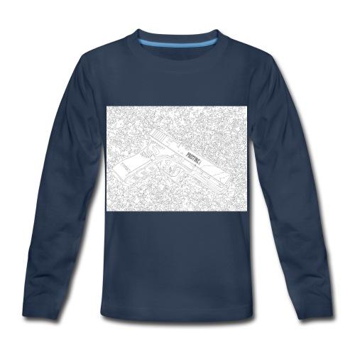 GunLines - Kids' Premium Long Sleeve T-Shirt