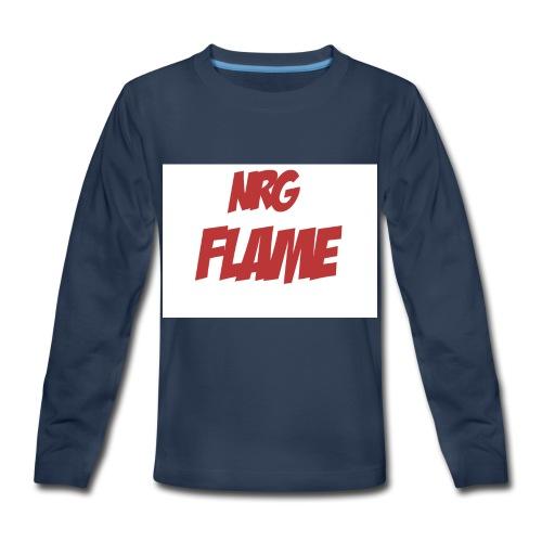 Flame For KIds - Kids' Premium Long Sleeve T-Shirt