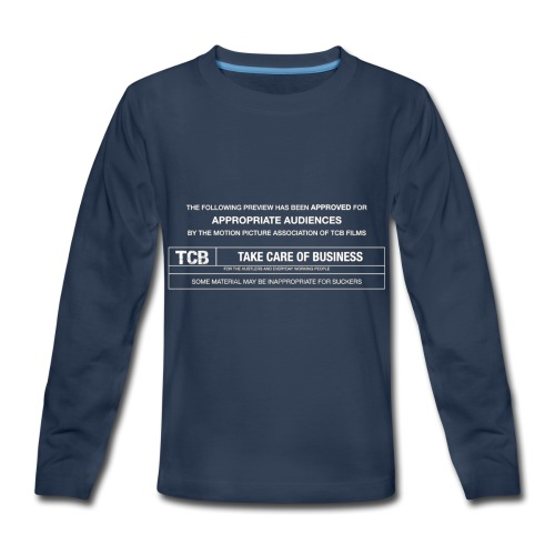 TCB Films Disclamer - Kids' Premium Long Sleeve T-Shirt