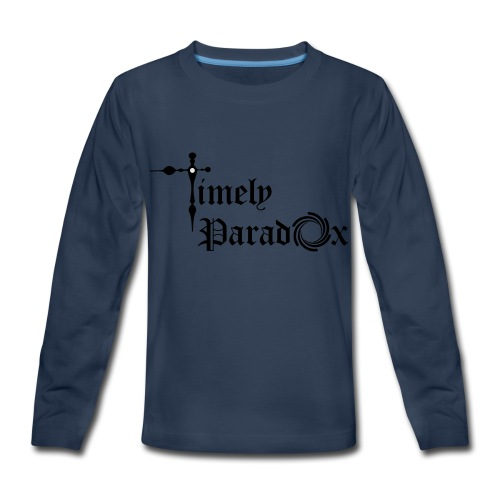 Timely Paradox - Kids' Premium Long Sleeve T-Shirt