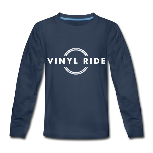 Vinyl Ride Logo - Kids' Premium Long Sleeve T-Shirt