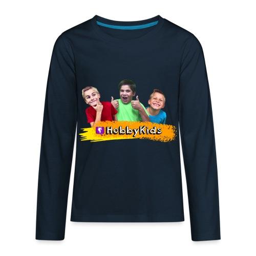 hobbykids shirt - Kids' Premium Long Sleeve T-Shirt