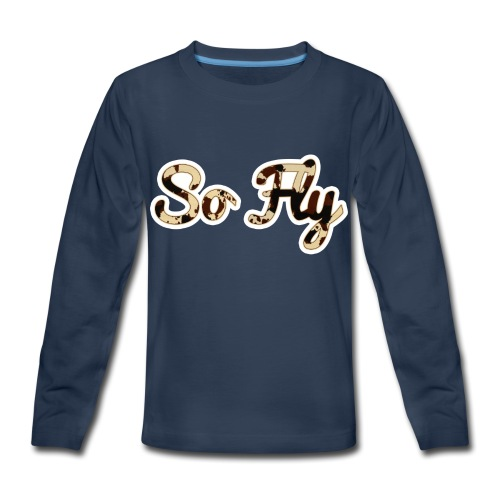 So Fly Classic Cow - Kids' Premium Long Sleeve T-Shirt