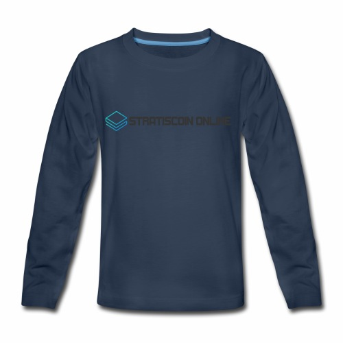 stratiscoin online dark - Kids' Premium Long Sleeve T-Shirt