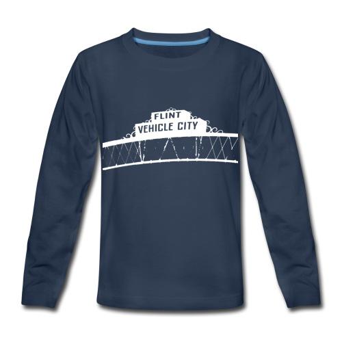 Flint Vehicle City - Kids' Premium Long Sleeve T-Shirt