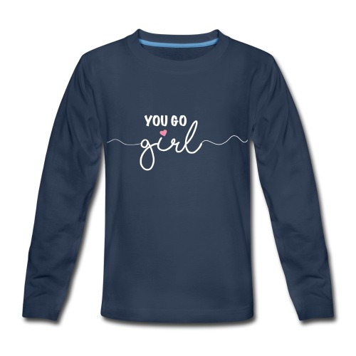 Girl Power - Kids' Premium Long Sleeve T-Shirt