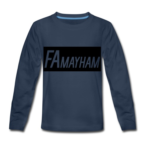 FAmayham - Kids' Premium Long Sleeve T-Shirt