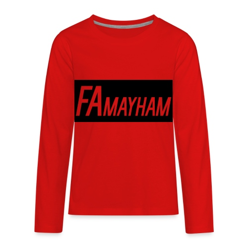 FAmayham - Kids' Premium Long Sleeve T-Shirt